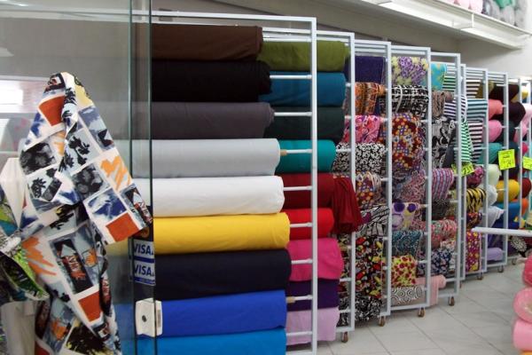 Loja de tecidos em Salvador