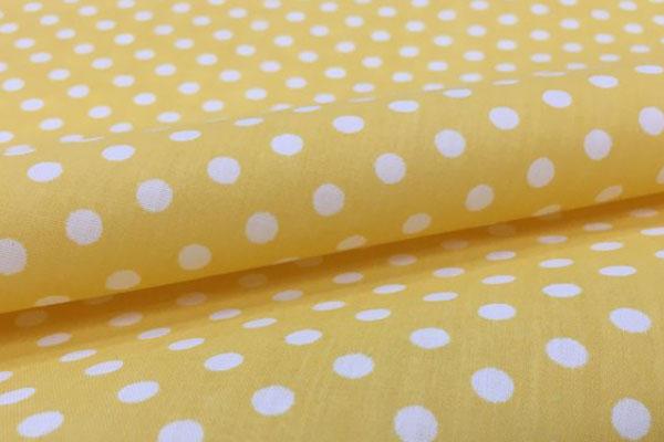 Tecido tricoline amarelo